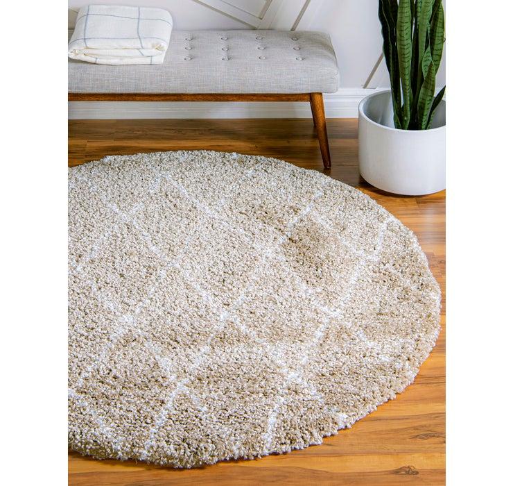 Image of 5' x 5' Marrakesh Shag Round Rug