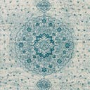Link to Turquoise of this rug: SKU#3144201