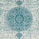 Link to Turquoise of this rug: SKU#3144183