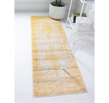 Image of  Yellow Dover Runner Rug