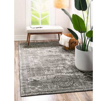 Image of  Dark Gray Dover Rug