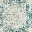Link to Turquoise of this rug: SKU#3144244