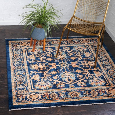 4 FT Square Rugs