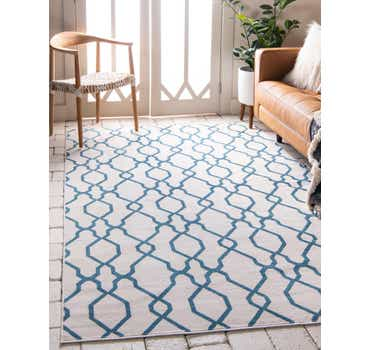 Image of 5' x 8' Outdoor Oasis Rug