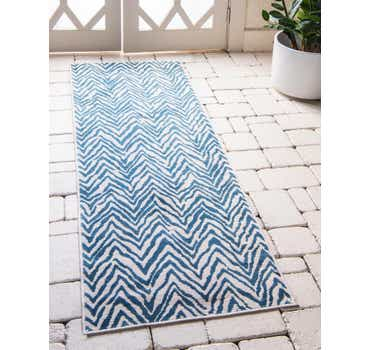 Image of 2' 2 x 6' Outdoor Oasis Runner Rug