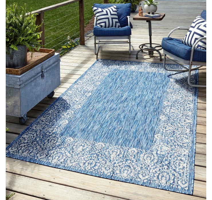 Image of 245cm x 345cm Outdoor Border Rug
