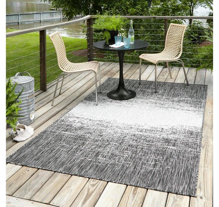 6' x 9' Outdoor Modern Rug