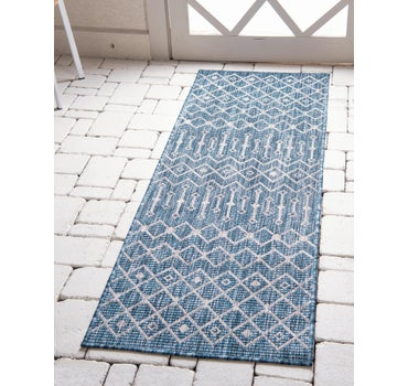 2' x 10' Outdoor Trellis Runner Rug main image