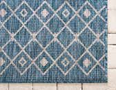 2' 7 x 12' Outdoor Trellis Runner Rug thumbnail