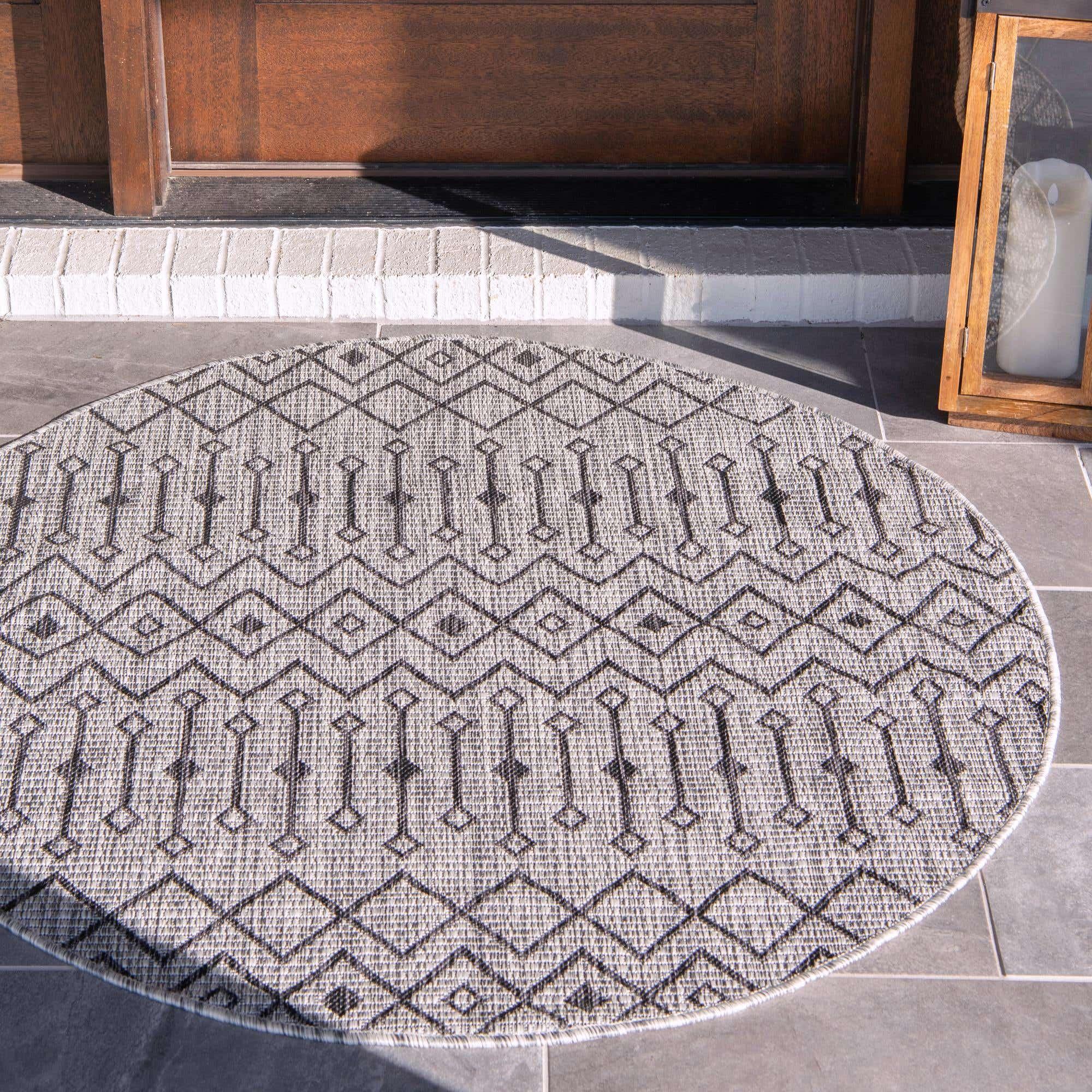 Gray 160cm X Outdoor Trellis, Round Outdoor Rugs Au