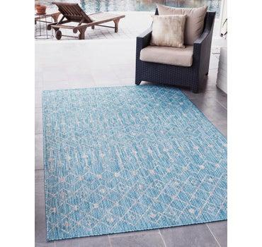 4' x 6' Outdoor Lattice Rug main image