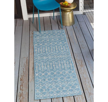 2' x 8' Outdoor Trellis Runner Rug main image