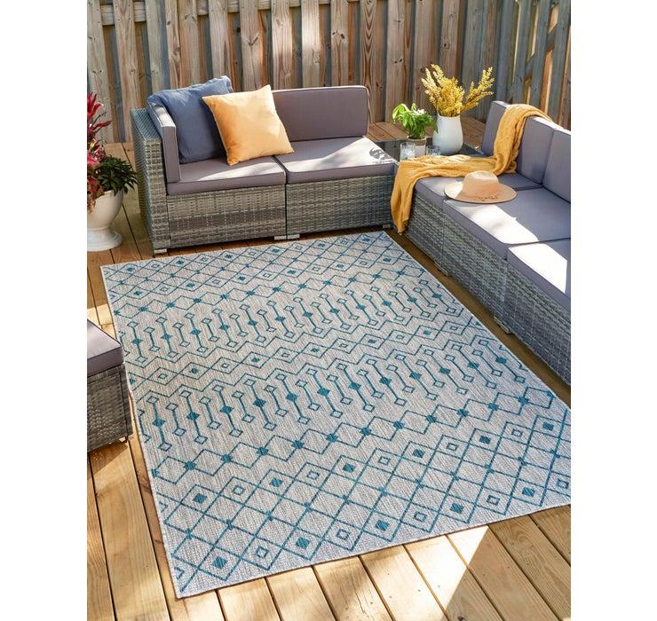 Image of 8' x 11' 4 Outdoor Trellis Rug