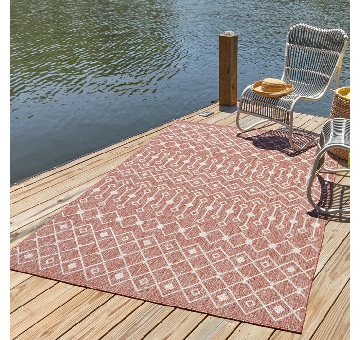 Image of 8' x 11' 4 Outdoor Trellis Rug