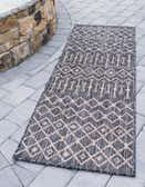 2' x 6' Outdoor Lattice Runner Rug thumbnail