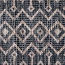 2' x 6' Outdoor Lattice Runner Rug