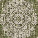 4' x 4' Outdoor Traditional Round Rug
