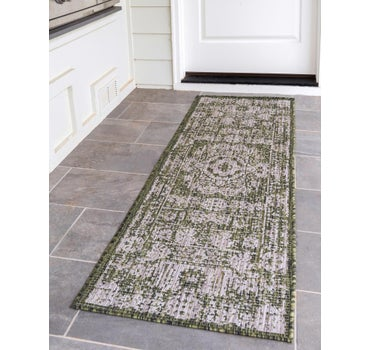 2' 2 x 6' Outdoor Traditional Runner Rug main image