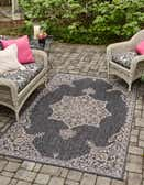 5' x 8' Outdoor Traditional Rug thumbnail