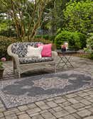 245cm x 345cm Outdoor Traditional Rug thumbnail