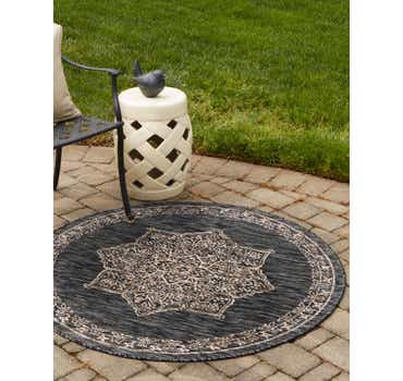 Image of 4' x 4' Outdoor Traditional Rou...