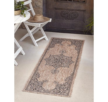 2' x 6' Outdoor Traditional Runner Rug main image