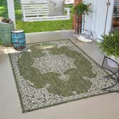 6' x 9' Outdoor Traditional Rug thumbnail