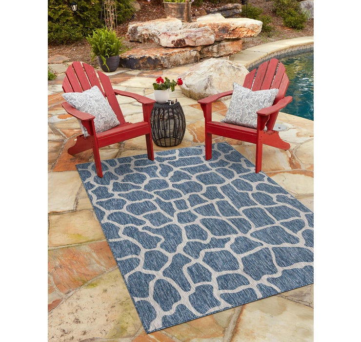5' x 8' Outdoor Safari Rug