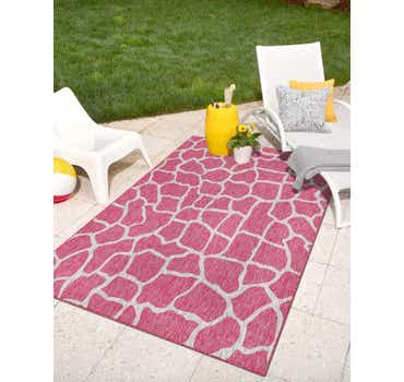 Image of 5' x 8' Outdoor Safari Rug