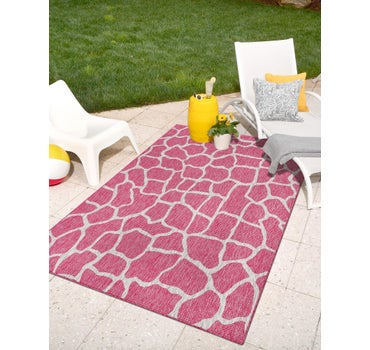 5' x 8' Outdoor Safari Rug main image