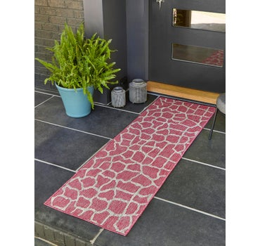 2' x 6' Outdoor Safari Runner Rug main image