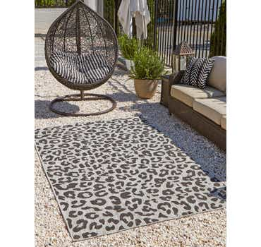 Image of 6' x 9' Outdoor Safari Rug