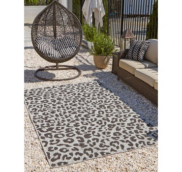 9' x 12' Outdoor Safari Rug main image