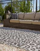 9' x 12' Outdoor Safari Rug thumbnail