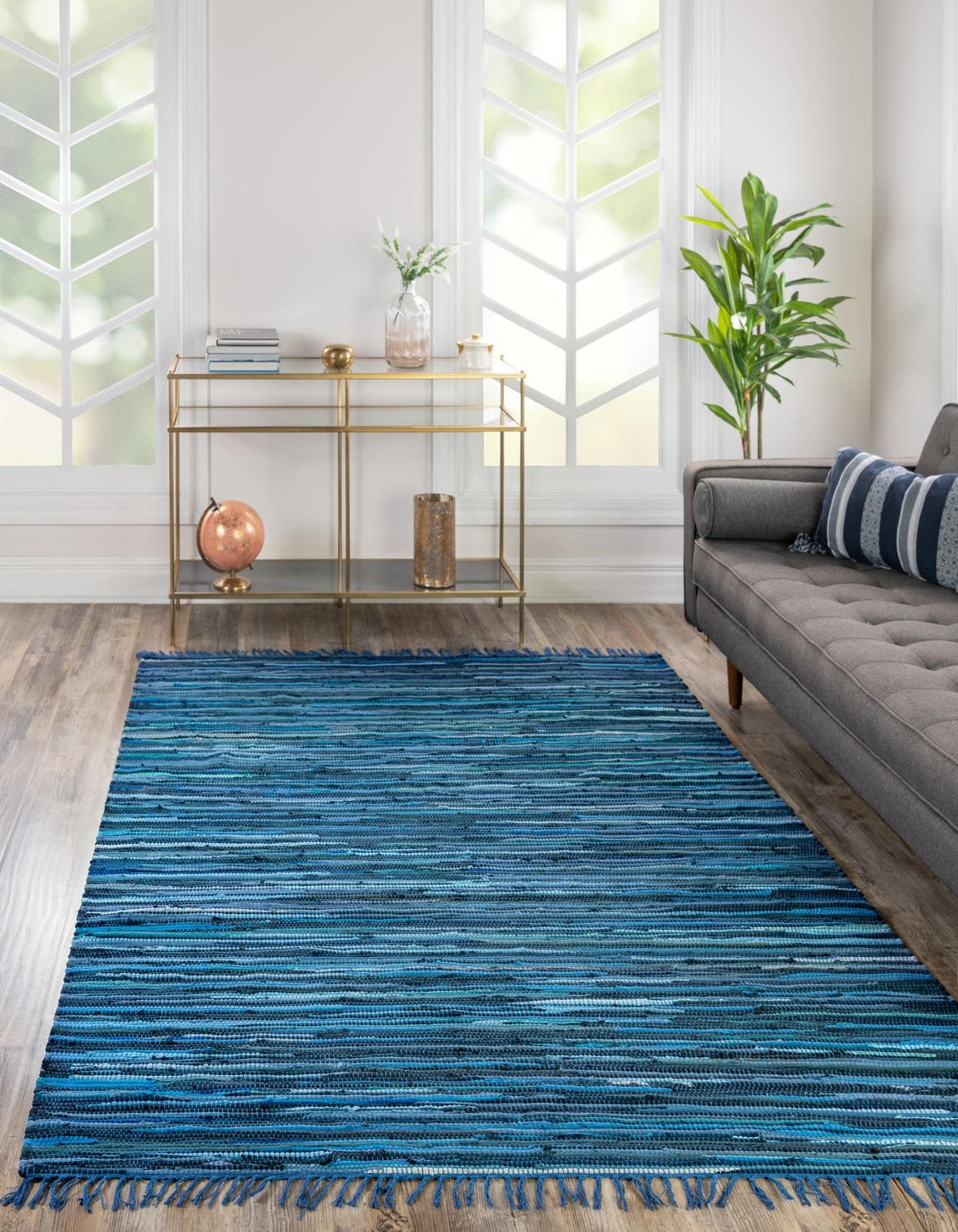 2' 2 x 3' Chindi Cotton Rug main image