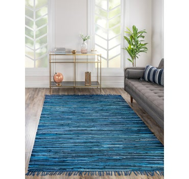 5' x 8' Chindi Cotton Rug main image