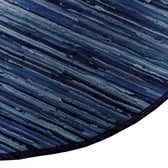 3' 3 x 5' Chindi Cotton Oval Rug thumbnail