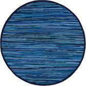 3' 3 x 3' 3 Chindi Cotton Round Rug thumbnail