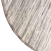 8' x 10' Chindi Cotton Oval Rug thumbnail