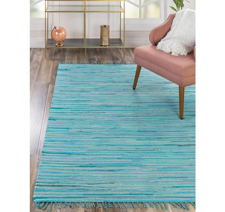 245cm x 305cm Chindi Cotton Rug