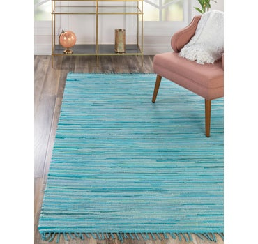 8' x 10' Chindi Cotton Rug main image