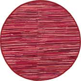 6' x 6' Chindi Cotton Round Rug thumbnail