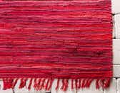 80cm x 300cm Chindi Cotton Runner Rug thumbnail