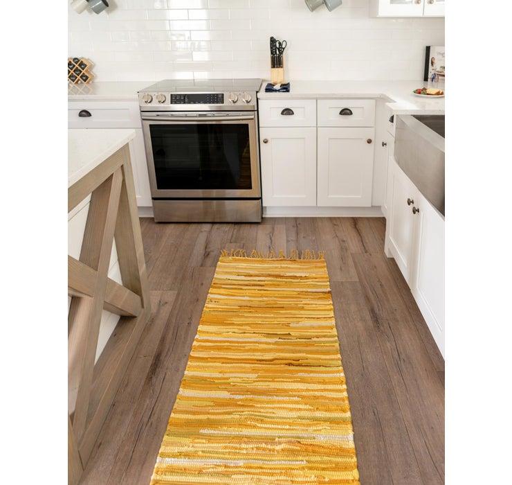 65cm x 200cm Chindi Cotton Runner Rug