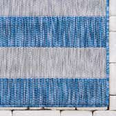 4' x 6' Outdoor Striped Rug thumbnail