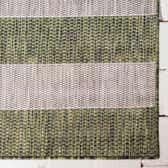 2' x 6' Outdoor Striped Runner Rug thumbnail