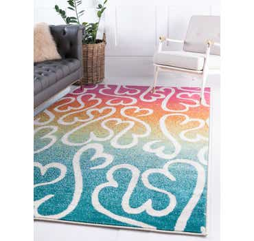 Image of 9' x 12' Open Hearts Rug