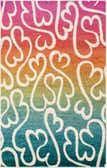 Jane Seymour 5' x 8' Open Hearts Rug thumbnail