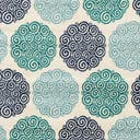 Link to Turquoise of this rug: SKU#3145411