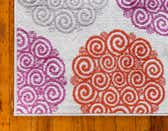 Jane Seymour 2' x 6' Open Hearts Runner Rug thumbnail